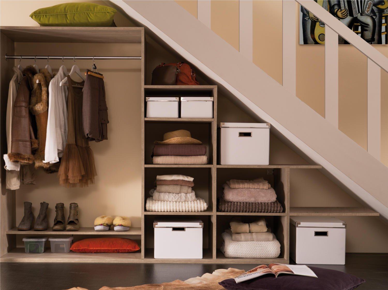 créer un dressing dans un petit espace