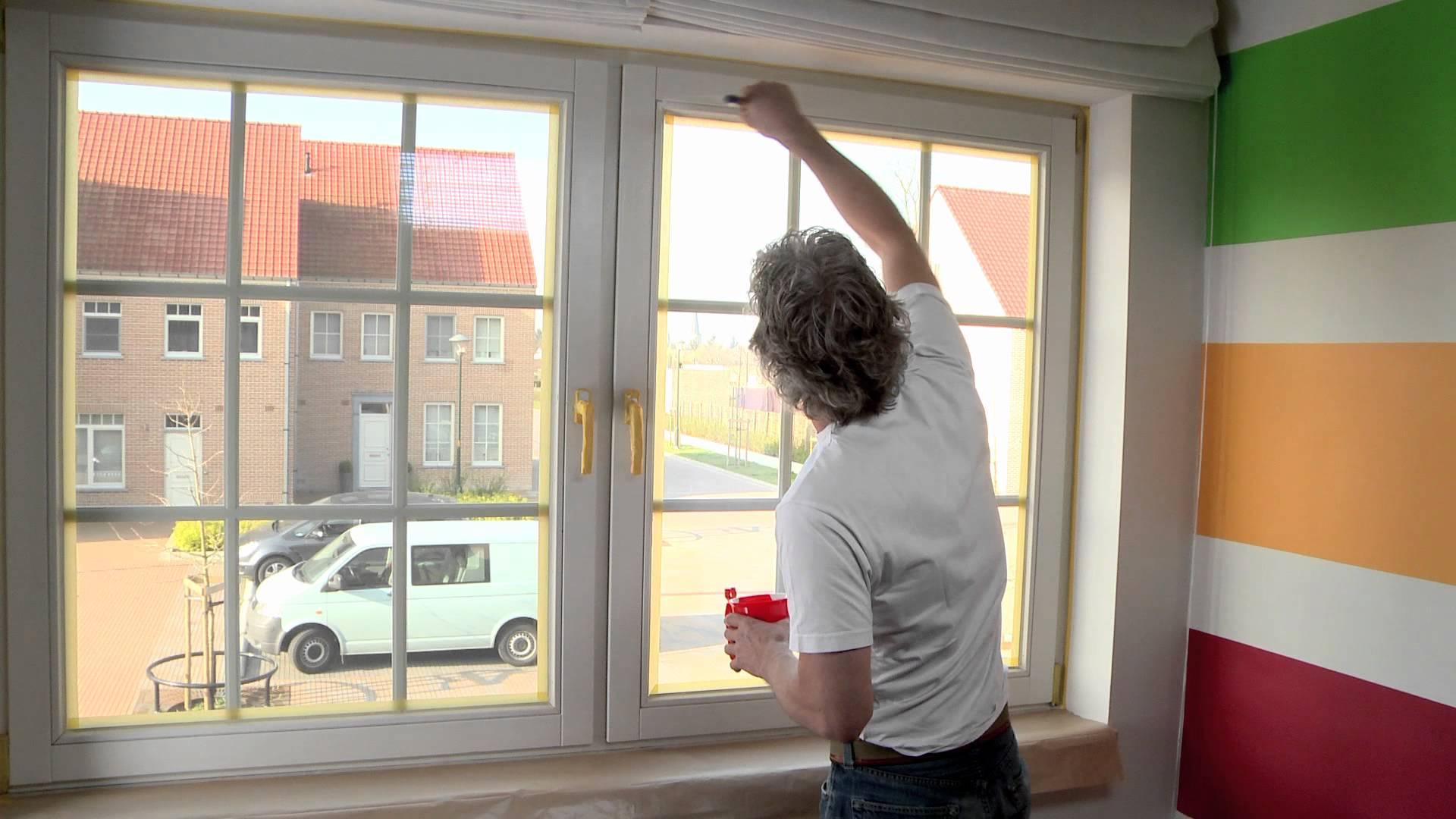 Repeindre les fenêtres de sa maison