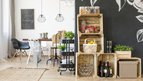 DIY & tutos meubles - Créations en carton & palettes de bois