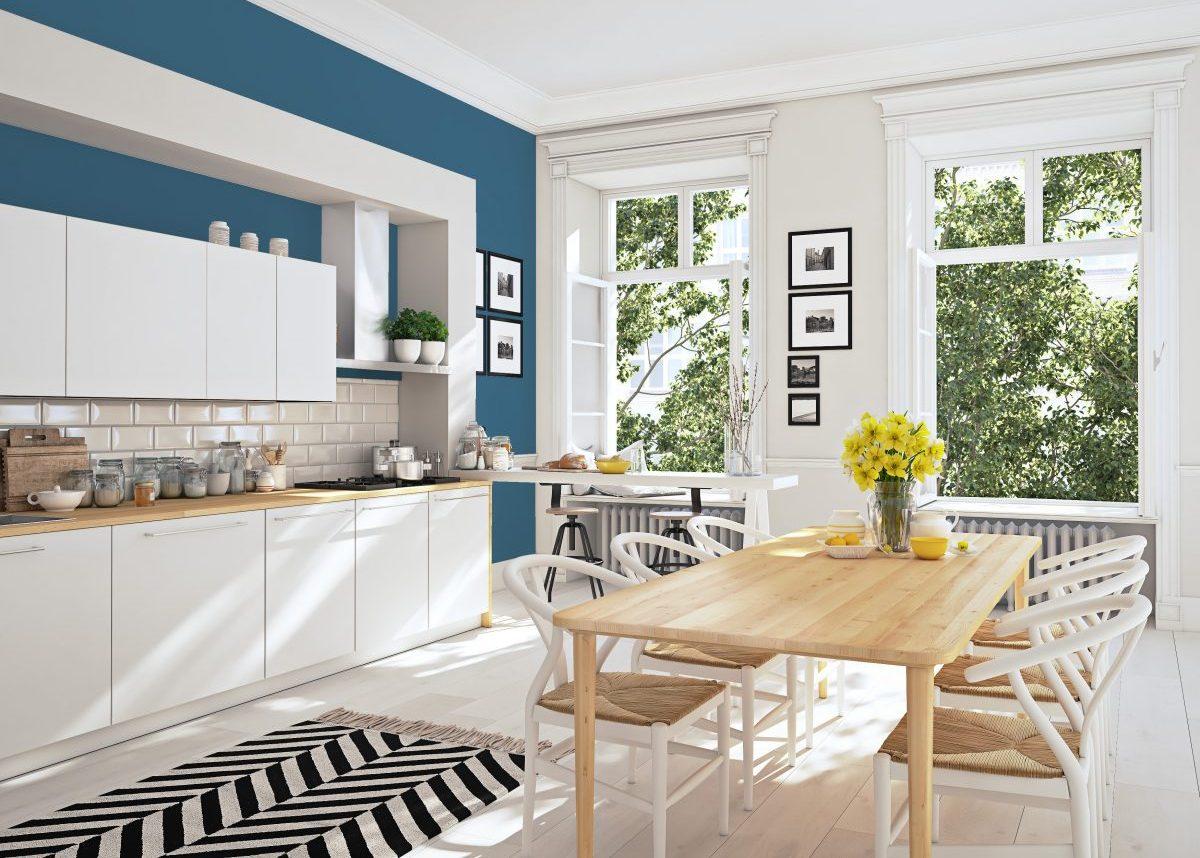 Une cuisine de style scandinave