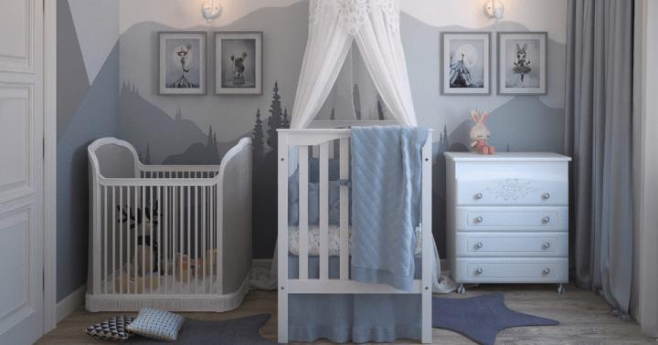 Décoration chambre d'un bébé garçon