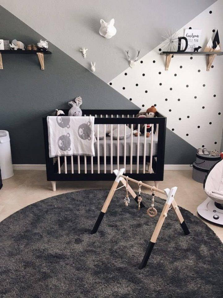 Astuce de décoration de chambre de bébé garçon